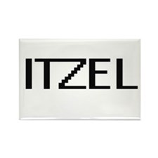 Itzel Digital Name Magnets