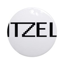 Itzel Digital Name Ornament (Round)