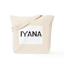 Iyana Digital Name Tote Bag