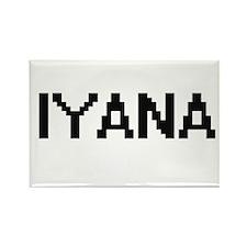 Iyana Digital Name Magnets