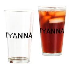 Iyanna Digital Name Drinking Glass