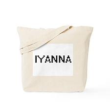 Iyanna Digital Name Tote Bag