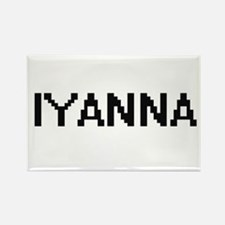 Iyanna Digital Name Magnets