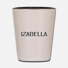 Izabella Digital Name Shot Glass