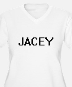 Jacey Digital Name Plus Size T-Shirt