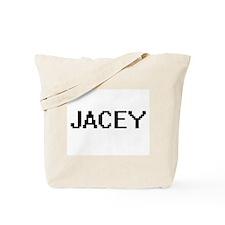 Jacey Digital Name Tote Bag