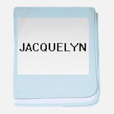 Jacquelyn Digital Name baby blanket