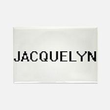 Jacquelyn Digital Name Magnets