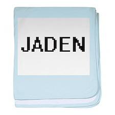Jaden Digital Name baby blanket