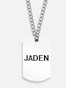 Jaden Digital Name Dog Tags