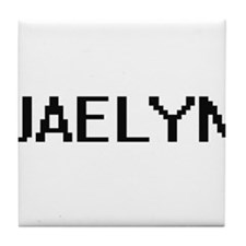 Jaelyn Digital Name Tile Coaster