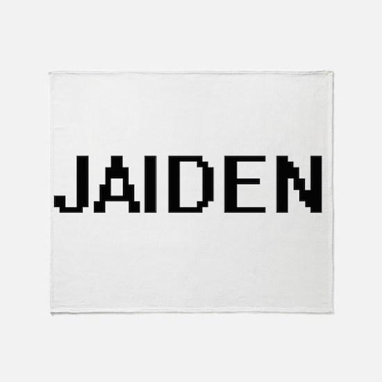 Jaiden Digital Name Throw Blanket
