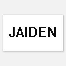 Jaiden Digital Name Decal
