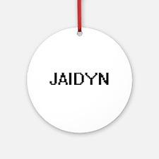 Jaidyn Digital Name Ornament (Round)