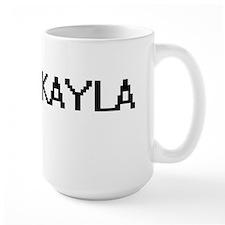 Jakayla Digital Name Mugs