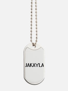 Jakayla Digital Name Dog Tags
