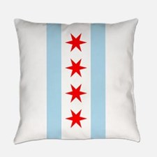 Chicago Flag Everyday Pillow