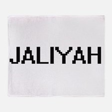 Jaliyah Digital Name Throw Blanket