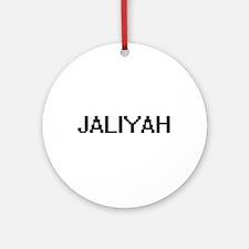 Jaliyah Digital Name Ornament (Round)