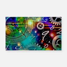 Steampunk Time Universe Rectangle Car Magnet