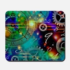 Steampunk Time Universe Mousepad