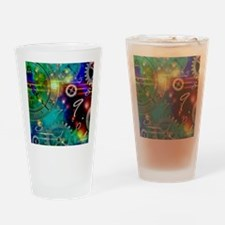 Steampunk Time Universe Drinking Glass