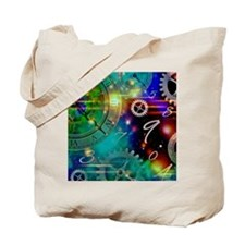 Steampunk Time Universe Tote Bag