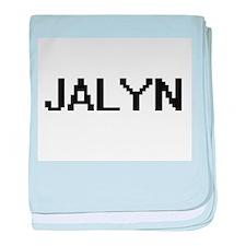Jalyn Digital Name baby blanket