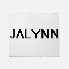 Jalynn Digital Name Throw Blanket