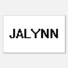 Jalynn Digital Name Decal