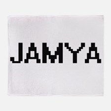 Jamya Digital Name Throw Blanket