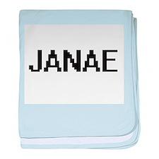 Janae Digital Name baby blanket