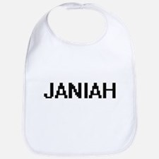Janiah Digital Name Bib