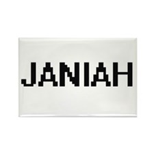 Janiah Digital Name Magnets