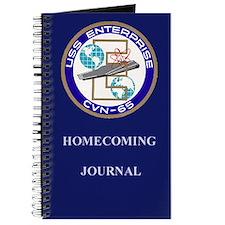 USS Enterprise Homecoming Journal