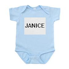 Janice Digital Name Body Suit