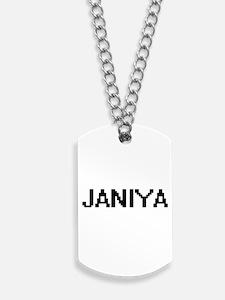 Janiya Digital Name Dog Tags