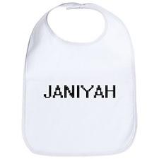 Janiyah Digital Name Bib