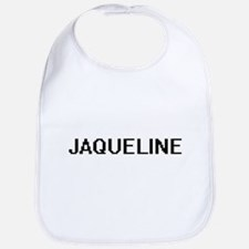 Jaqueline Digital Name Bib