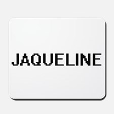 Jaqueline Digital Name Mousepad