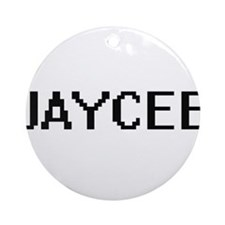 Jaycee Digital Name Ornament (Round)