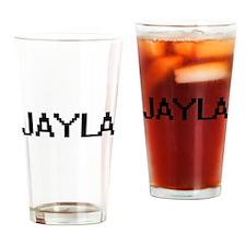 Jayla Digital Name Drinking Glass