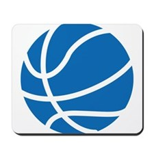 Basketball Blue Mousepad