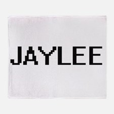 Jaylee Digital Name Throw Blanket