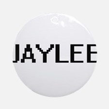 Jaylee Digital Name Ornament (Round)