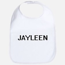 Jayleen Digital Name Bib