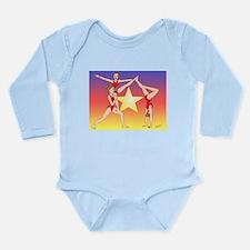 Star Acro Trio Body Suit