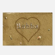 Bubba Beach Love Postcards (Package of 8)