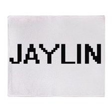 Jaylin Digital Name Throw Blanket