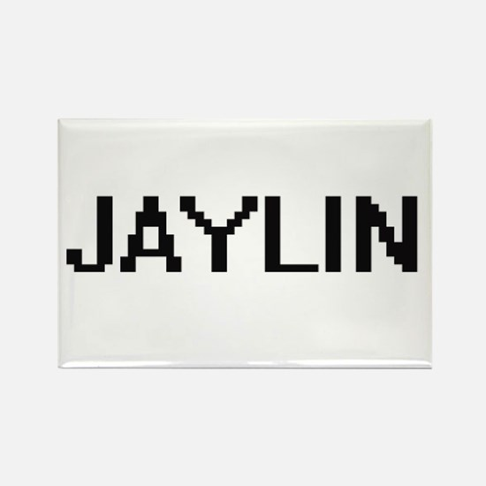 Jaylin Digital Name Magnets